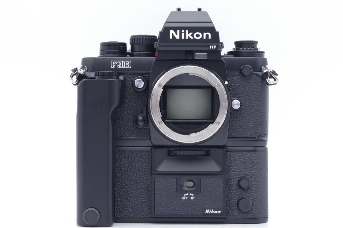Nikon ニコン F3H 960万台 + MD-4H