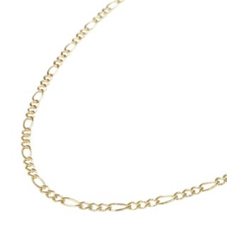 NEW FIGARO 10K NECKLACE 51cm