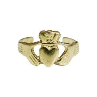 10K CLADDAGH RING