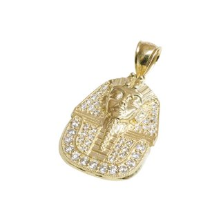 10K PHARAOHS PENDANT TOP