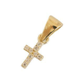 10K CROSS PENDANT TOP