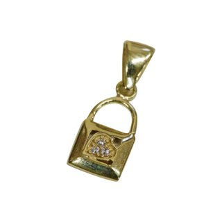 10K KEY PENDANT TOP