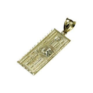 10K MILLION DOLLAR BILL PENDANT TOP