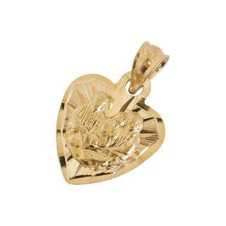 10K THE NATIVITY PENDANT TOP