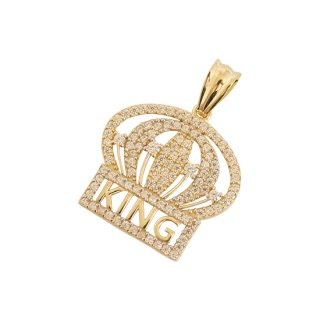10K CROWN PENDANT TOP