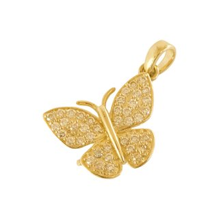 10K BUTTERFLY PENDANT TOP