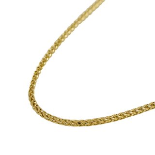 PALM CHAIN 10K NECKLACE 51cm 56cm