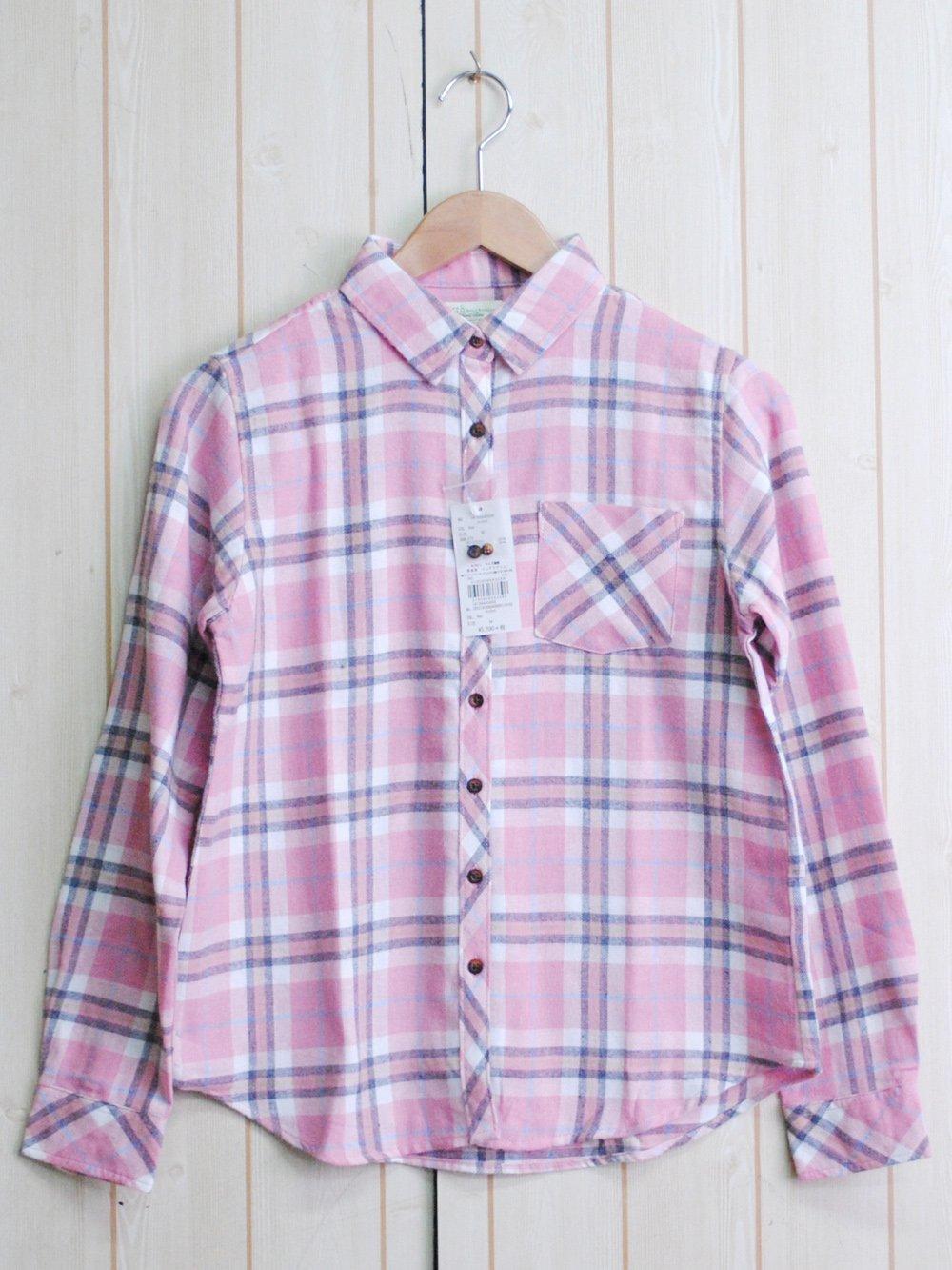 【92%OFF】@450円■5枚セット■チェックシャツ