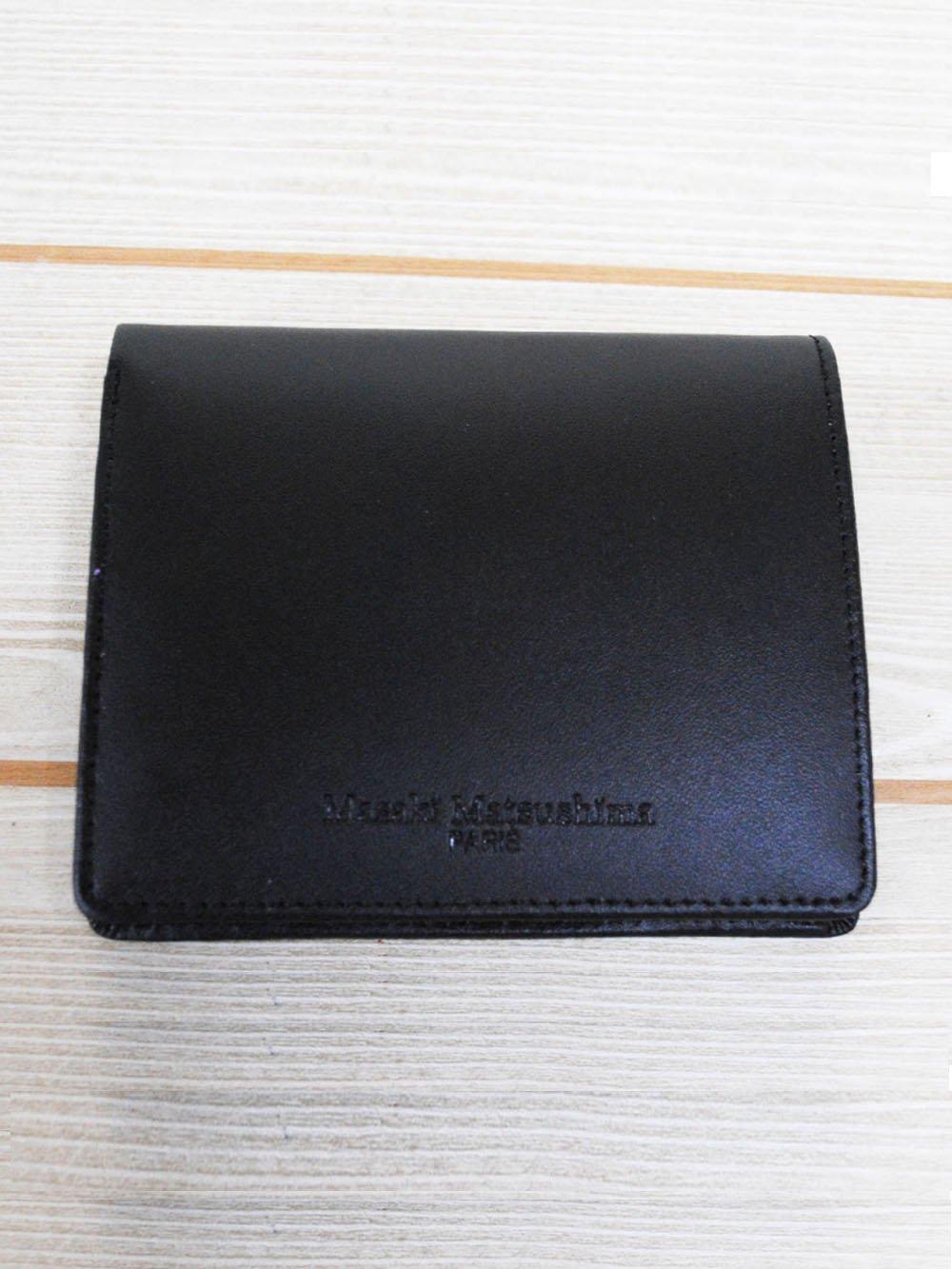 【99.9%OFF】@1円■マサキマツシマレザー2つ折り財布