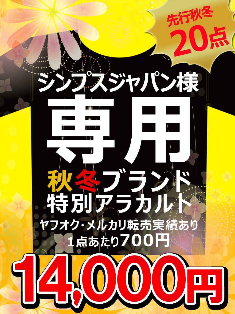 シンプスジャパン様限定セット★特別アソート@500