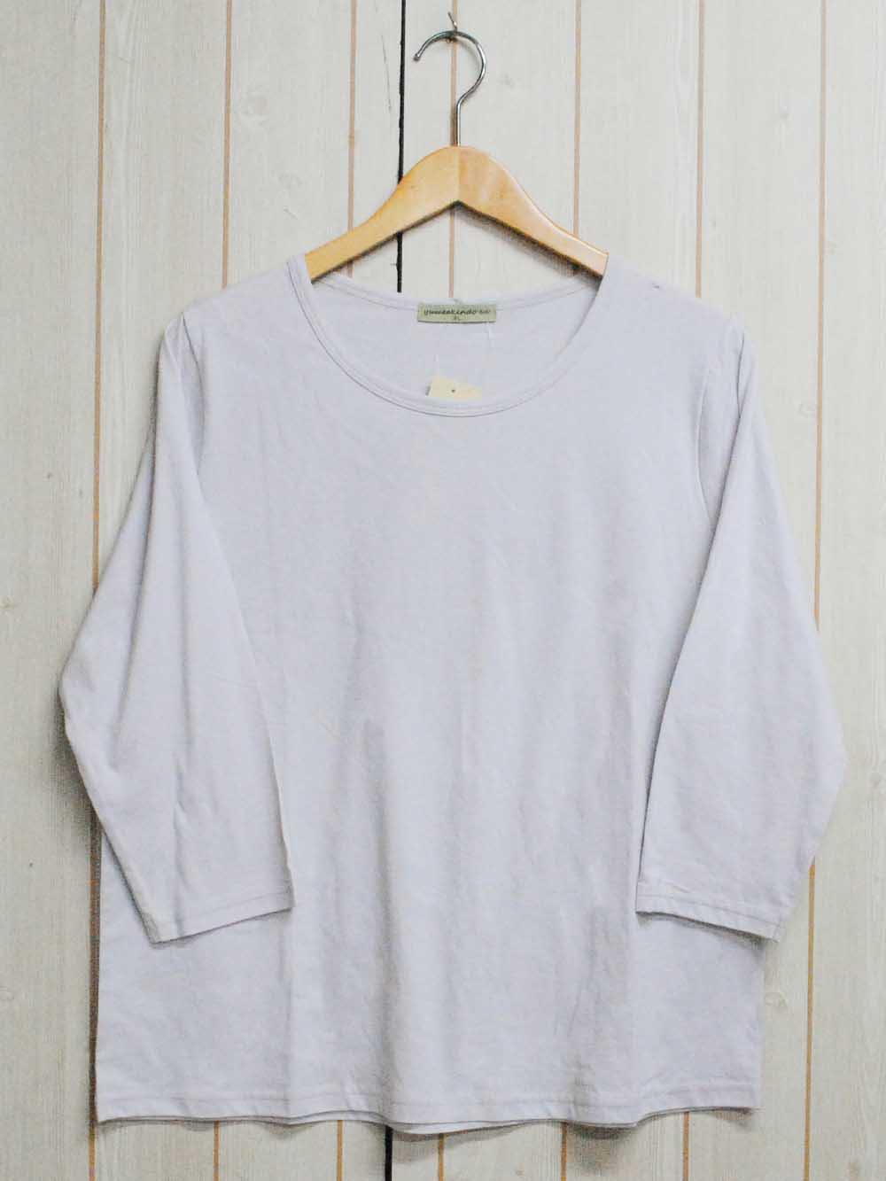 【93%OFF】@199円■10枚セット■Uネック 長袖Tシャツ