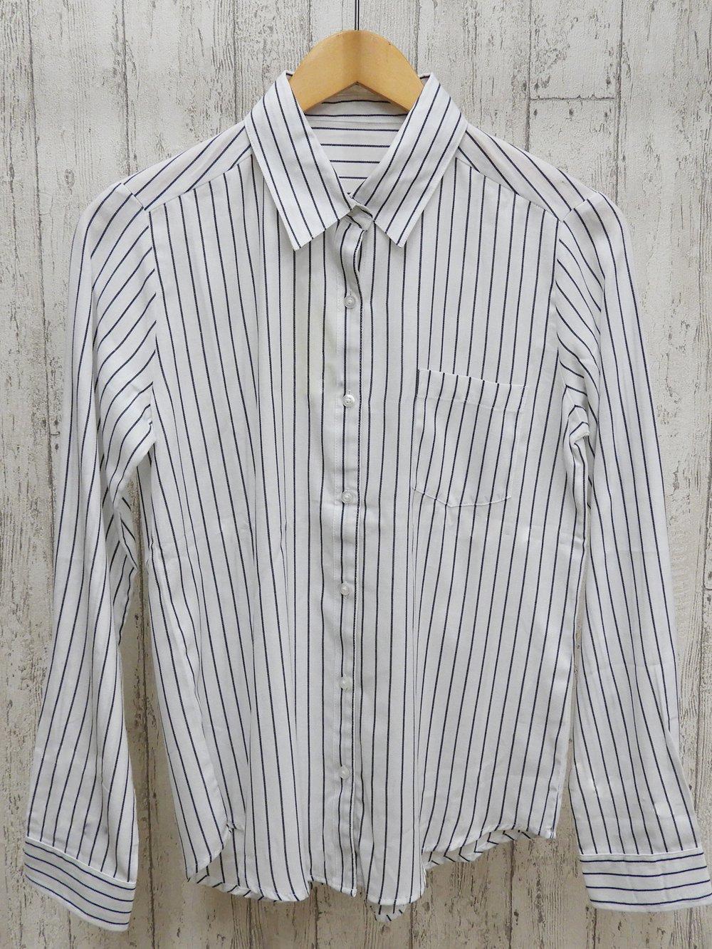 【90%OFF】@299円■5枚セット■ストライプシャツ