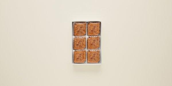 上昇大凧 瓦せんべい 18枚(3枚×6袋)