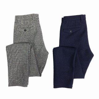 TOMORROWLAND トゥモローランド メンズ リングツイード プリーツパンツ