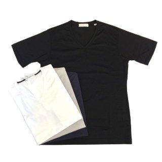 TOMORROWLAND トゥモローランド ギザコットン VネックTシャツ
