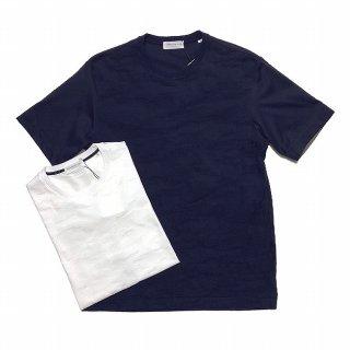TOMORROWLAND トゥモローランド メンズ ジャカードカモ 切替Tシャツ