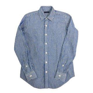 TOMORROWLAND トゥモローランド メンズ シェニール ストライプシャツ