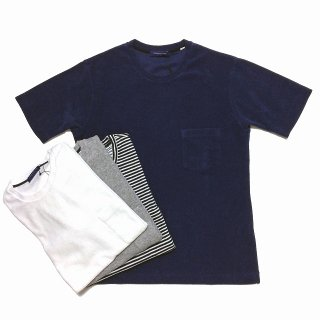 TOMORROWLAND トゥモローランド クルーネック パイルTシャツ<br>【30%OFF】<img class='new_mark_img2' src='https://img.shop-pro.jp/img/new/icons20.gif' style='border:none;display:inline;margin:0px;padding:0px;width:auto;' />