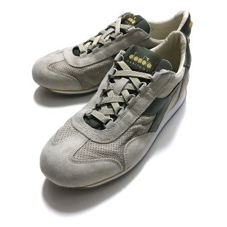 diadora HERITAGE ディアドラ ヘリテージ EQUIPE S SW 18 GREY COBBLESTONE エキップ グレー×オリーブグリーン<img class='new_mark_img2' src='https://img.shop-pro.jp/img/new/icons2.gif' style='border:none;display:inline;margin:0px;padding:0px;width:auto;' />