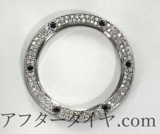 HUBLOT ウブロ クラシックフュージョン用 アフターダイヤベゼル 天然ダイヤ サファイアガラス使用
