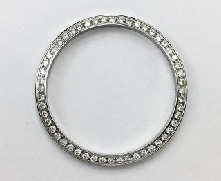 【即納】Rolex ロレックス デイトジャスト メンズ36� アフターダイヤベゼル