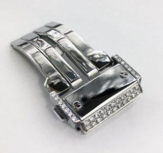 HUBLOT ウブロ用 アフターダイヤ バックル ダイヤモンド 鑑別書付 カスタム 新品
