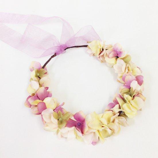 【ホームページ限定】 花かんむり フレンチモーヴ