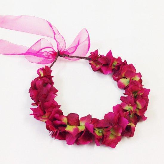 【ホームページ限定】 花かんむり スカーレット