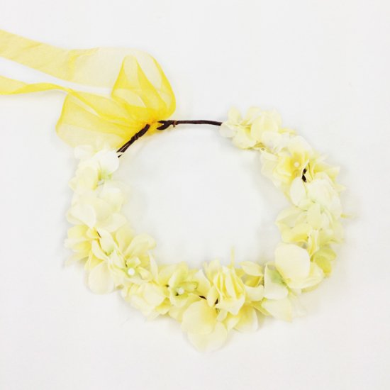 【ホームページ限定】 花かんむり シトラス