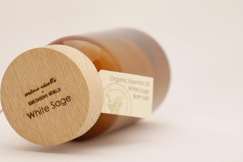 arome recolte×SMUDGING WORLD エッセンシャルオイル バスソルト