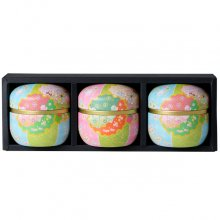極上煎茶手まり缶セット 八女津媛3缶箱入(80g×3缶)