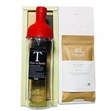 煎茶ロング冷茶ボトルB (フィルターインボトル750ml×1、極上煎茶100g×1)