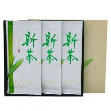 初摘み・新茶セット 特上煎茶(媛みやび)100g3本箱入