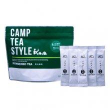 パウダー緑茶(粉末緑茶)スティック タイプ CAMP TEA STYLE 煎茶(媛しずく)スティック 0.5g×20袋