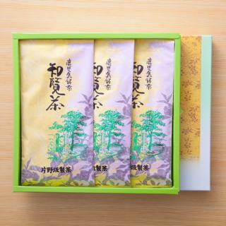 茶香炉 【 K-2】 知覧茶100g×3本