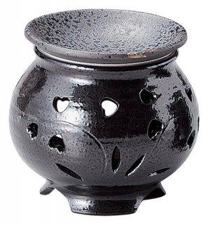 1000円〜3000円 ハート形  黒 茶香炉