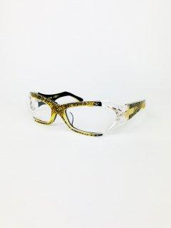 紫電改 C.5(ゴールドラメ × ブラック&クリア/メタル:ゴールド)