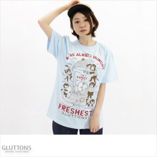 【Gluttons】WE'RE HUNGRY  ミックスジュース!!BIGTシャツ