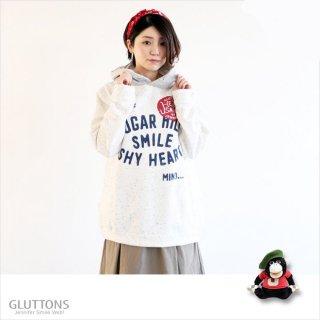 【Gluttons】SUGAR HILL☆ハートもじもじジェニファー、ツートーンパーカー