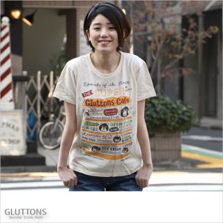 【Gluttons】Gluttons Cafe 今月のスペシャルは?Tシャツ