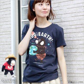 【Gluttons】地球をハグ!HUG☆ジェニファーTシャツ