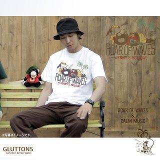 【Gluttons】ゆらりゆらゆらお昼寝中☆ジェニファー、メンズTシャツ