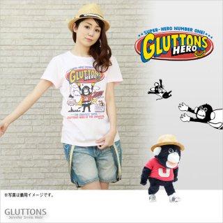 【Gluttons】ジェニファーはスーパーヒーロー☆Tシャツ