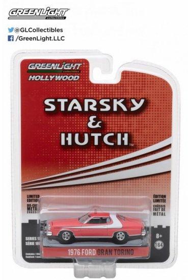 "1976 FORD GRAN TORINO /""STARSKY /& HUTCH/"" 1//43 Diecast Voiture Modèle Greenlight 86442"