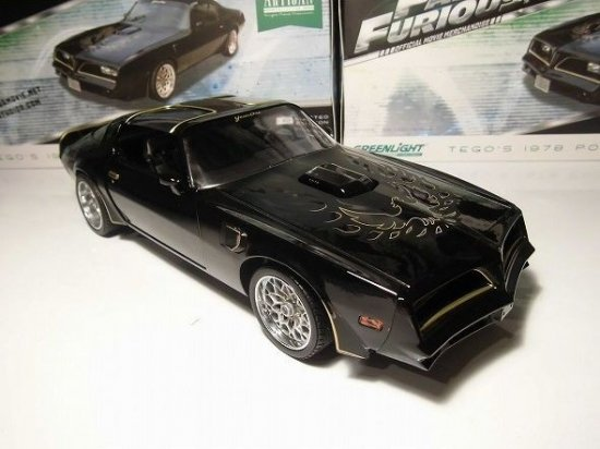 1978 Pontiac Firebird Trans Am Tego Fast /& Furious 1:18 Artisan GreenLight 19026