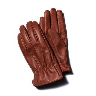 Y'2LEATHER MIRACLE PONY SHORT GLOVES BROWN(ワイツーレザー ミラクルポニー手袋 茶)