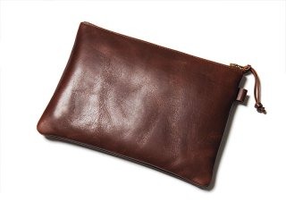 Y'2LEATHER  HORSE HIDE POUCH MIDDLE(ワイツーレザー ホースハイドポーチ  ミドル)