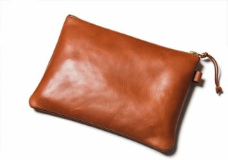 Y'2LEATHER  HORSE HIDE POUCH ipad対応サイズ(ワイツーレザー ホースハイドポーチ )