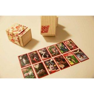 花札緊縛美人 高級花札セット/Hanahuda (Japanese Playing Cards)