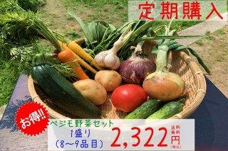 ベジモ野菜セット【定期購入】1盛り 送料無料!